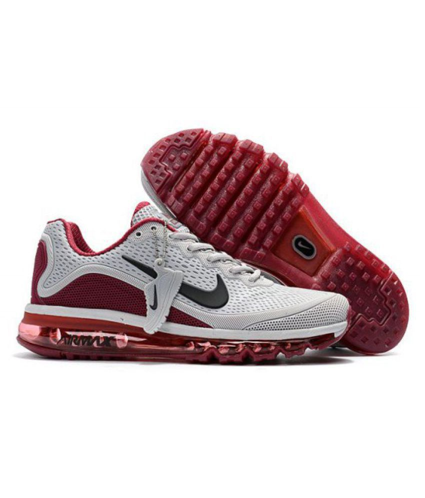 online store b6741 e9725 Nike Air Max 2017 .5 White Running Shoes