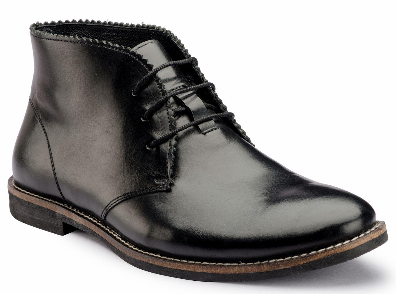 De Scalzo Black Chukka boot