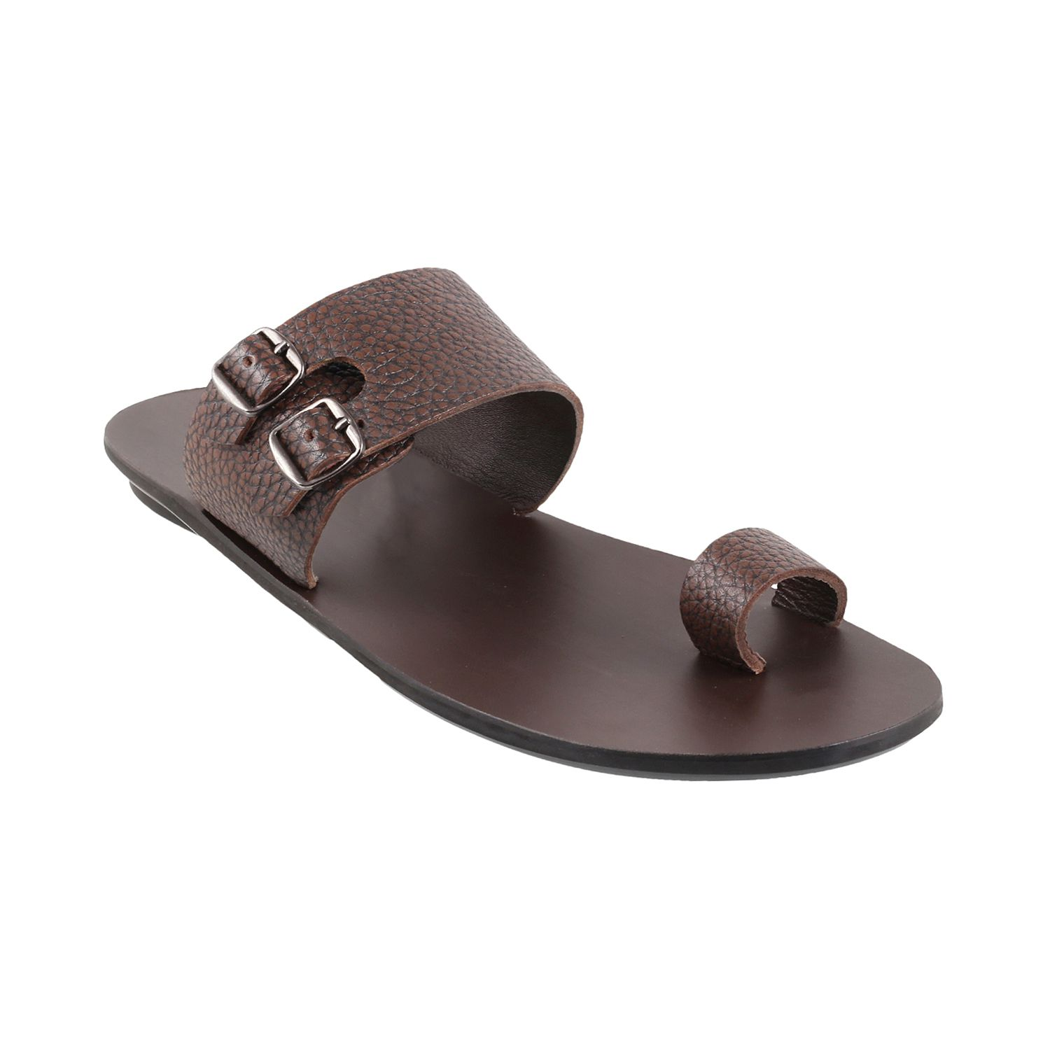 5223662d4a0 MOCHI MOCHI Men BROWN LEATHER BROWN Daily Slippers Price in India- Buy  MOCHI MOCHI Men BROWN LEATHER BROWN Daily Slippers Online at Snapdeal