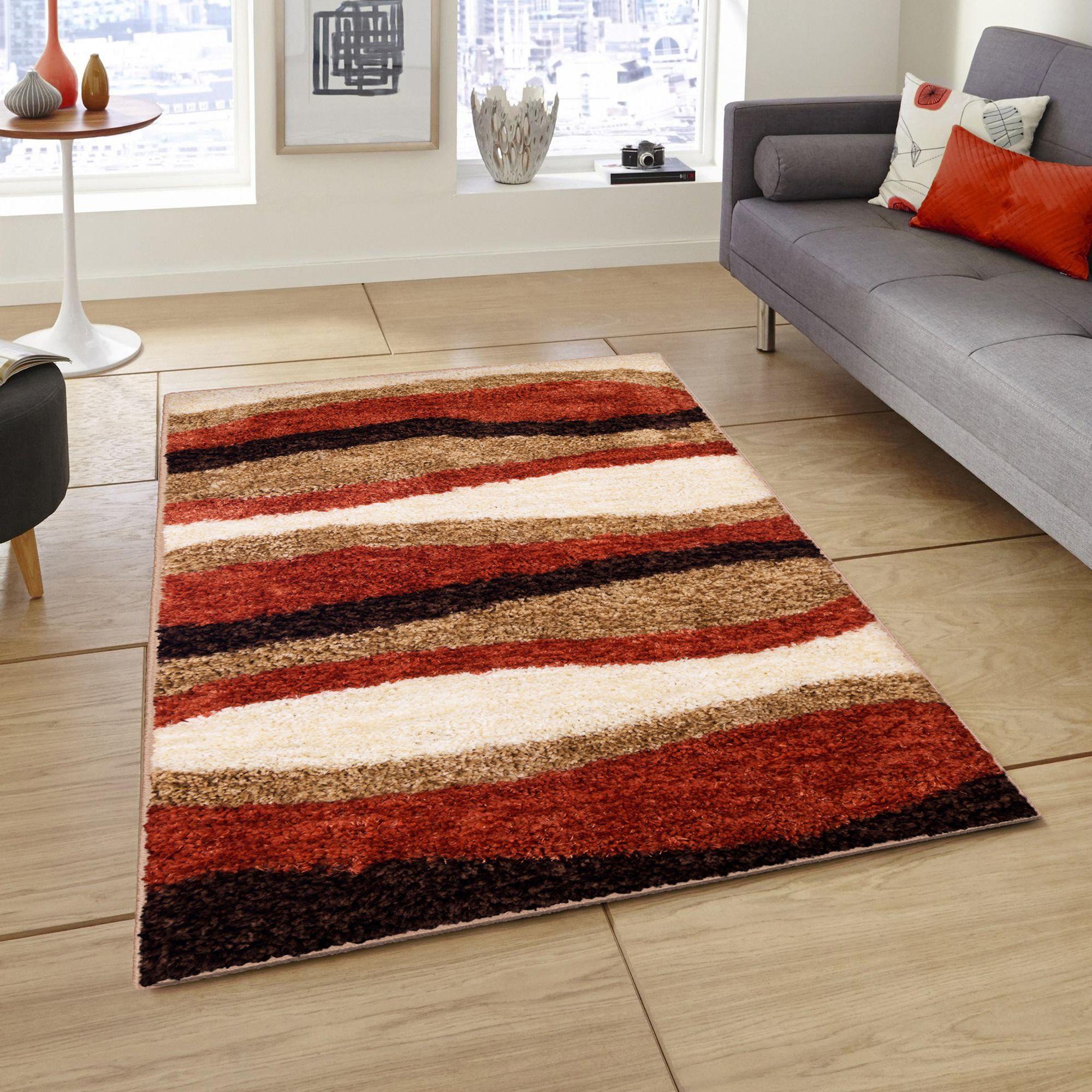 Story@Home Multi Polyester Carpet Geometrical 3x5 Ft.