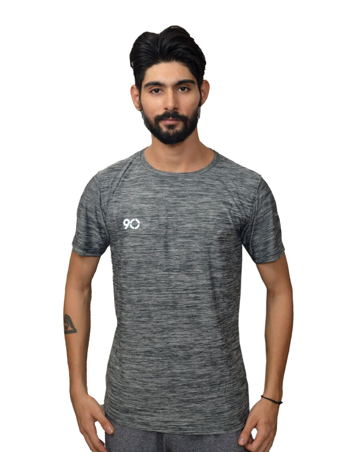 Crux&hunter Black Round T-Shirt