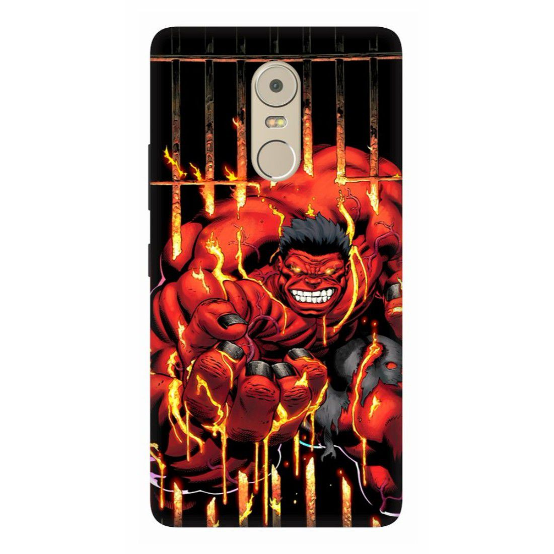 Lenovo K6 Note Printed Cover By wooo