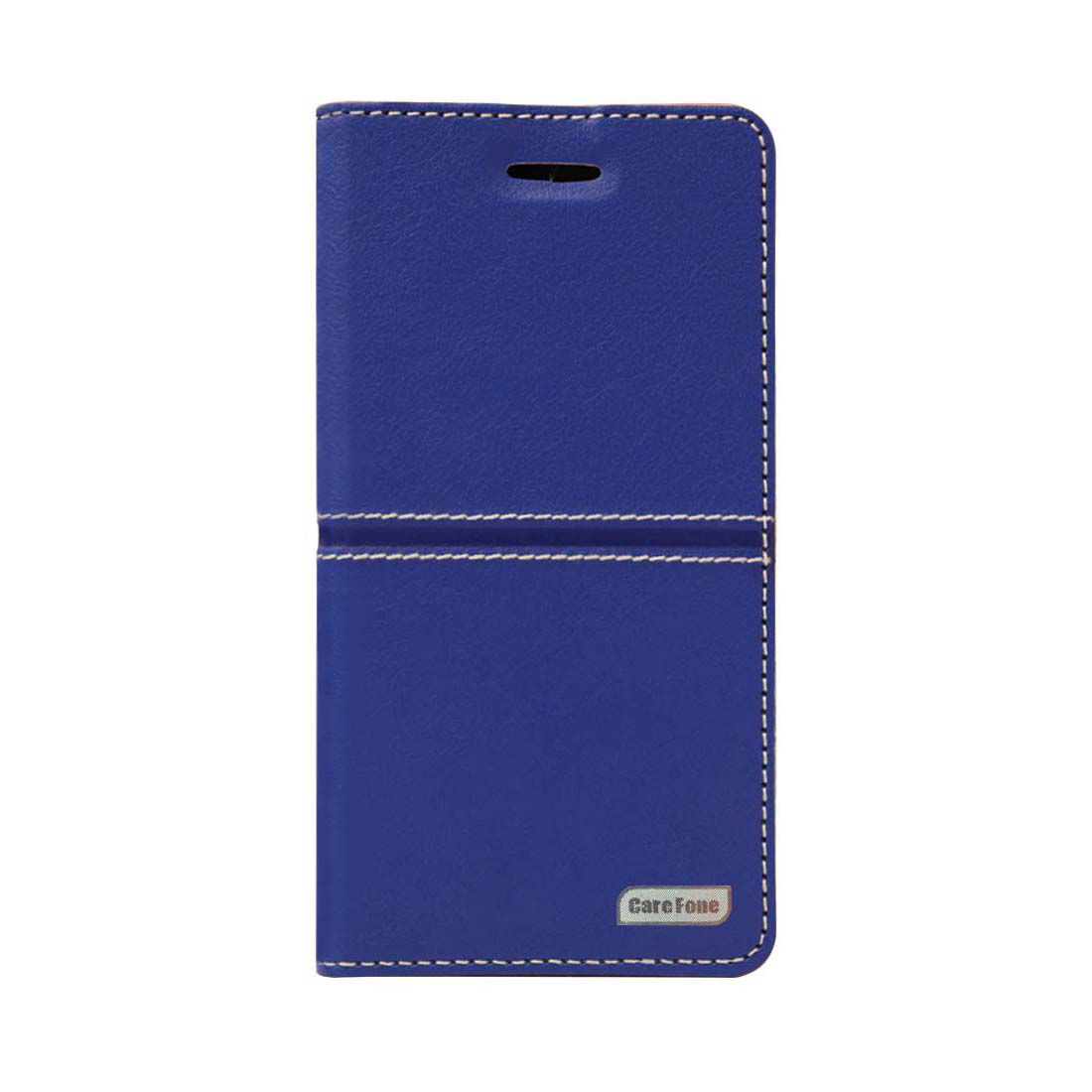 timeless design ee044 60a4e Honor 9 Lite Flip Cover by CareFone - Blue