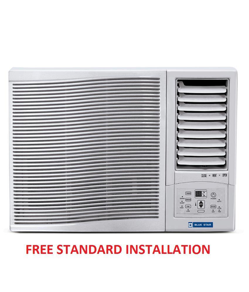 Blue Star 1 Ton 3 Star 3wae121yd Window Air Conditioner