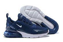 Nike Air Max 270 Navy Running Shoes