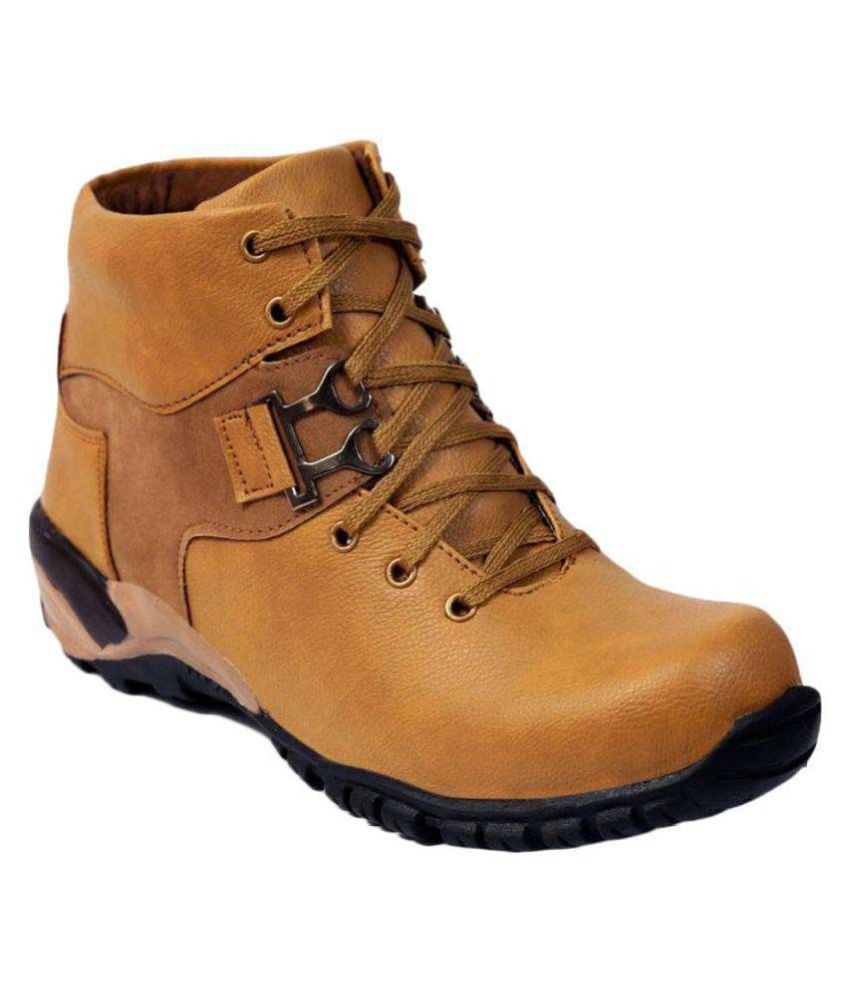 DLS  Tan Casual Boot