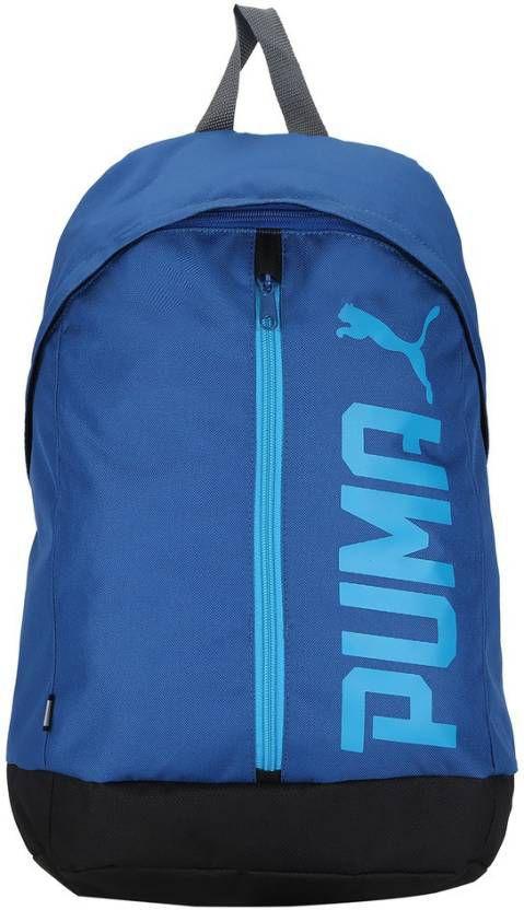puma bag puma backpack college bag college backpack school backpack school bag blue pioneer ii