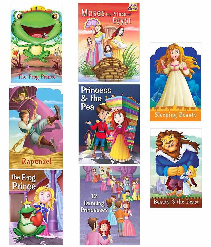 Princess Story Combo Pack (Set of 8)