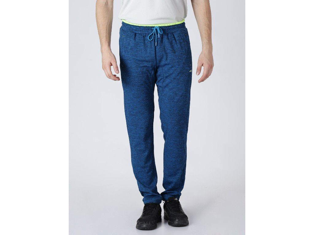 Alcis Mens Solid Blue Trackpant