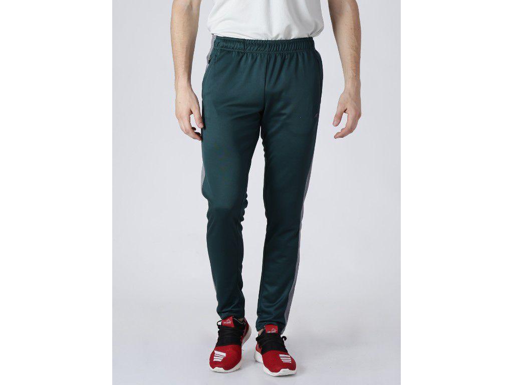 Alcis Mens Solid Green Trackpant