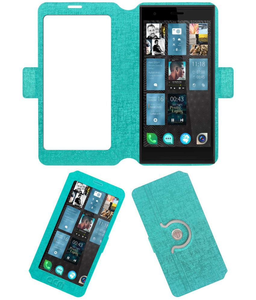 Jolla Smartphone Flip Cover by ACM - Blue