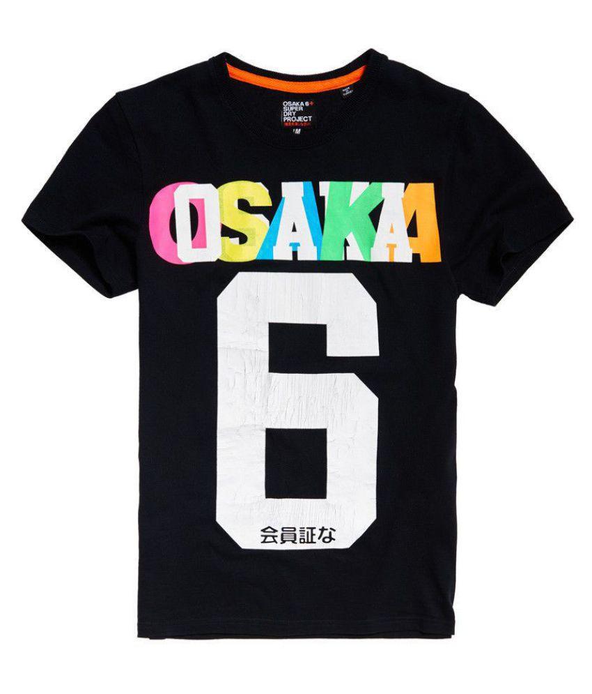Superdry Black Round T-Shirt