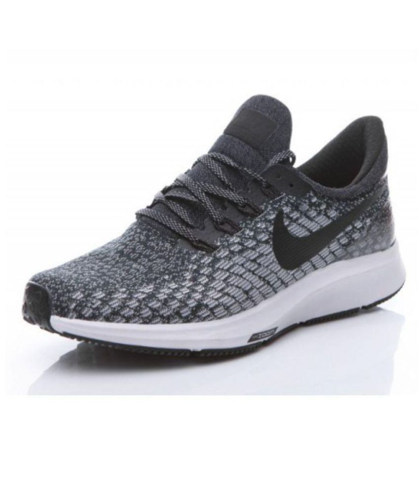Nike AIR ZOOM PEGASUS 35 Gray Running Shoes  Buy Online at Best Price on  Snapdeal dbf05be861