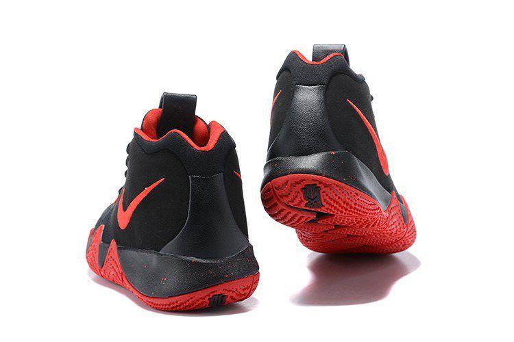 half off 3221e e69a5 Nike Kyrie 4 Cheap Red Black Basketball Shoes