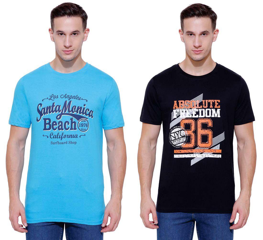 Dyca Multi Round T-Shirt Pack of 2