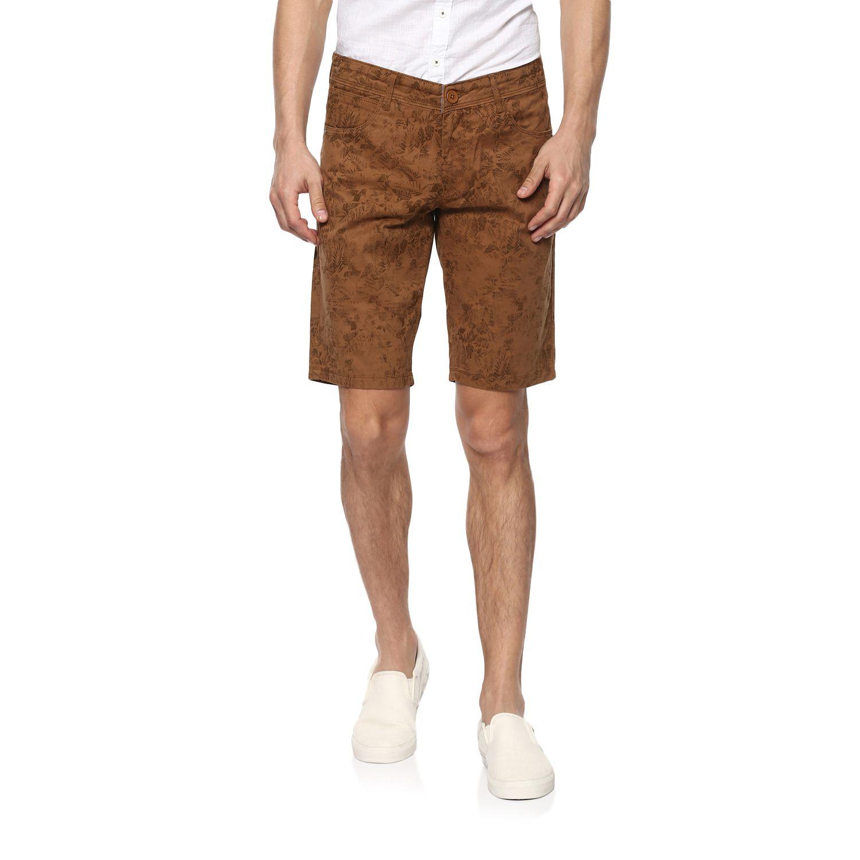 Spykar Brown Shorts
