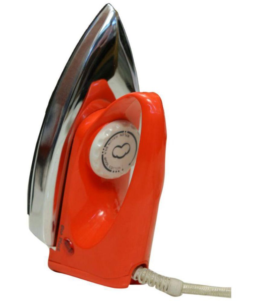 Ecoplus Polo Red Light Weight Iron Dry Iron White