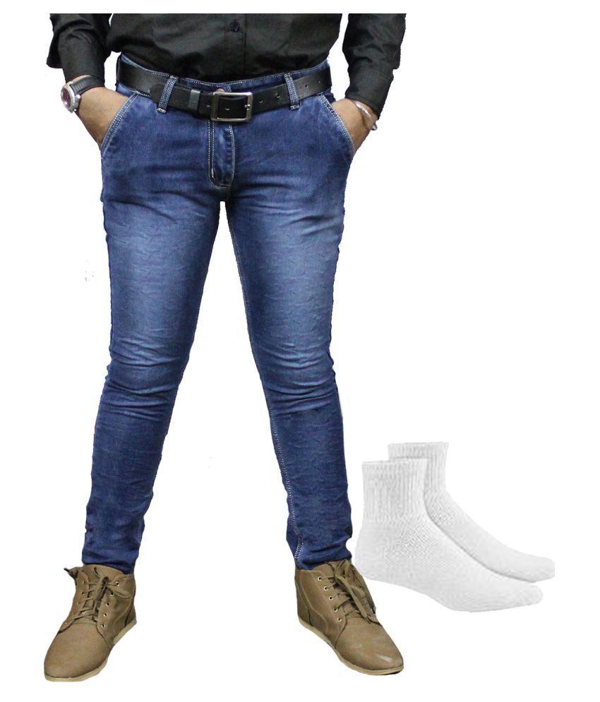 Taco Blue Regular Fit Jeans