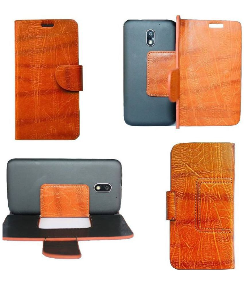 Huawei Honor 3X Pro Flip Cover by Zocardo - Brown