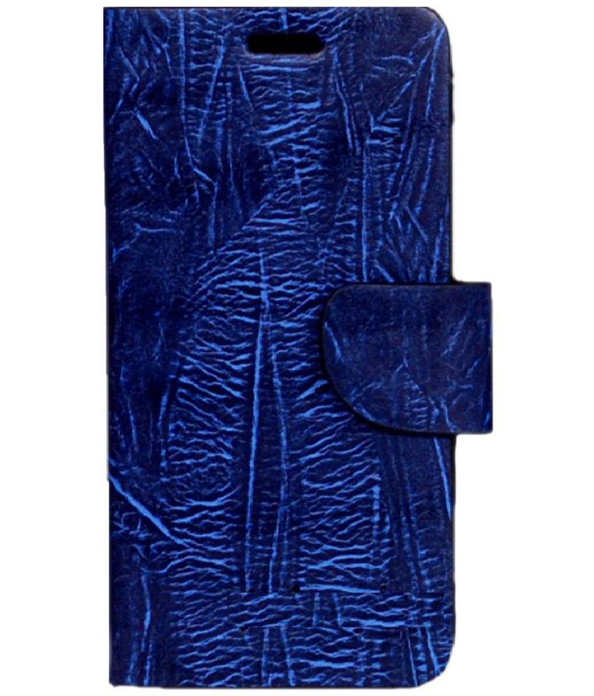 Lenovo K5 Note Flip Cover by Zocardo - Blue
