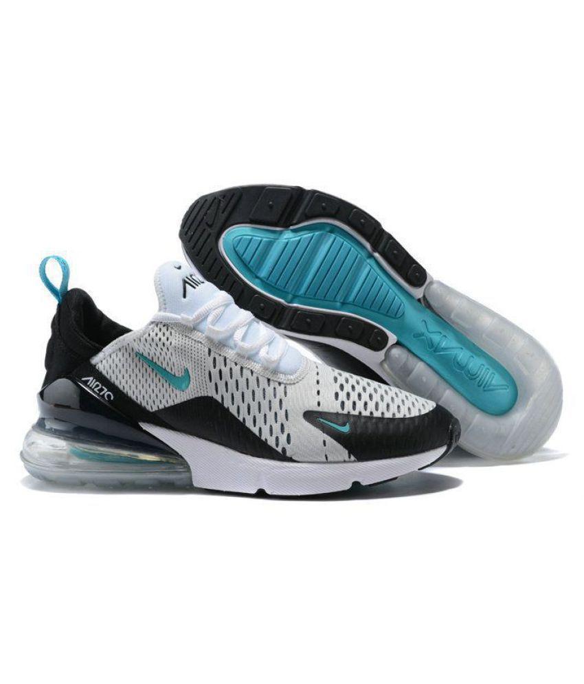 bd87a2fbb00 Nike Air Max 270 White Running Shoes - Buy Nike Air Max 270 White ...