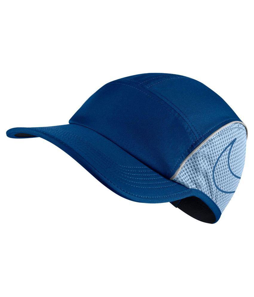 Nike Blue Plain Fabric Caps - Buy Online   Rs.  14c2e0f21d9