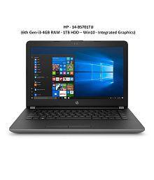 HP 14-bs701tu Laptop (Intel Core i3 / 4GB DDR4 RAM / 1TB HDD / 14