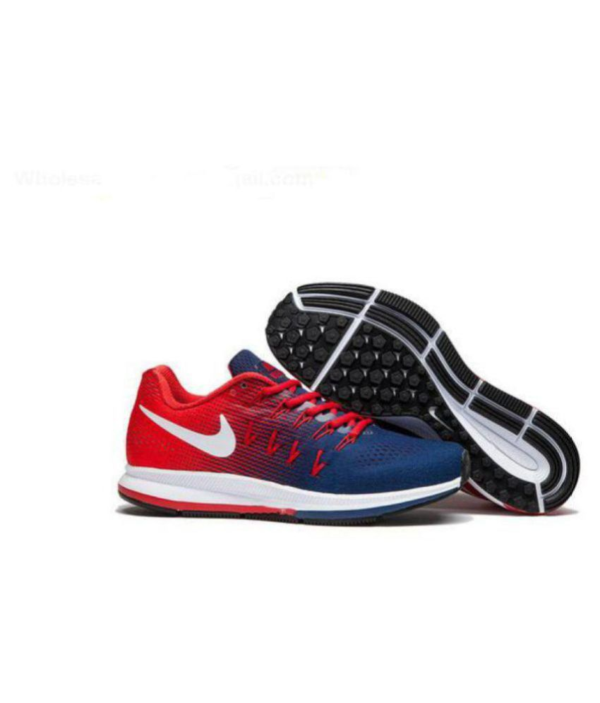 a7116ba54633 Nike Zoom Pegasus 33 Navy Running Shoes - Buy Nike Zoom Pegasus 33 Navy  Running Shoes Online at Best Prices in India on Snapdeal