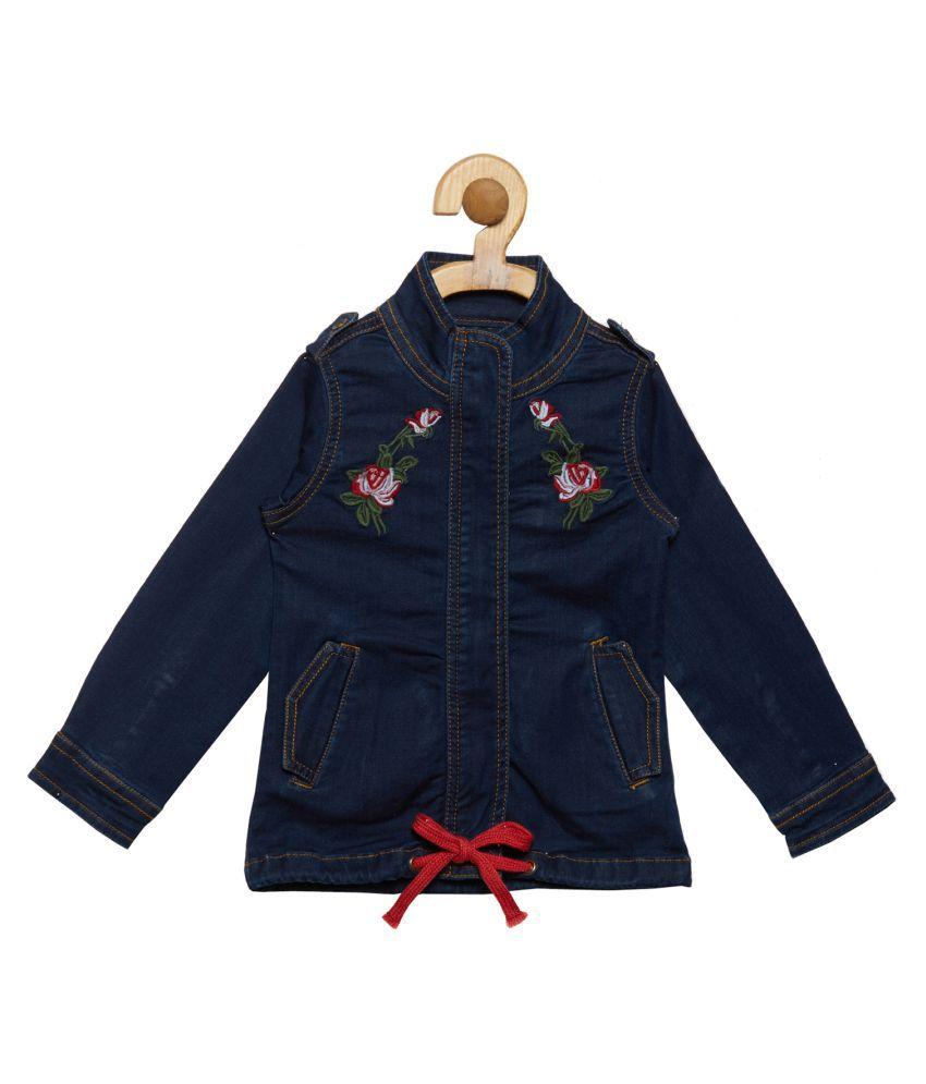 Tales & Stories Girls Blue Denim Jacket