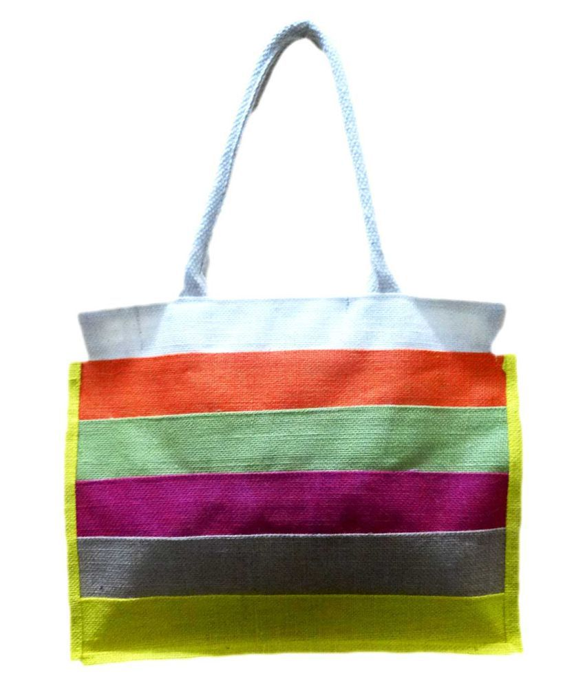 Kids Mandi Yellow Shopping Bags - 1 Pc