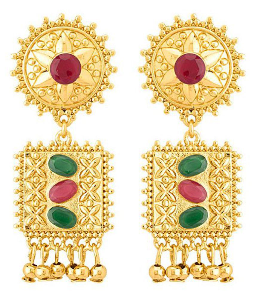 Voylla Gorgeous Jhankar Dangler Earrings