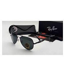 Ray Ban Avaitor Black Aviator Sunglasses ( 3517/58/14 )
