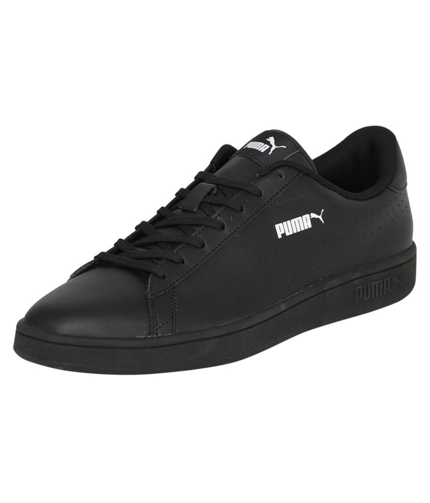 Puma Smash v2 L Perf Sneakers Black Casual Shoes - Buy Puma Smash v2 L Perf  Sneakers Black Casual Shoes Online at Best Prices in India on Snapdeal 46be83d21