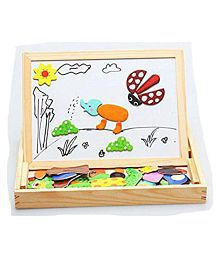 Creativity With Educational Learning Wooden Magnetic Board Puzzle Game (HCCD ENTERPRISE)