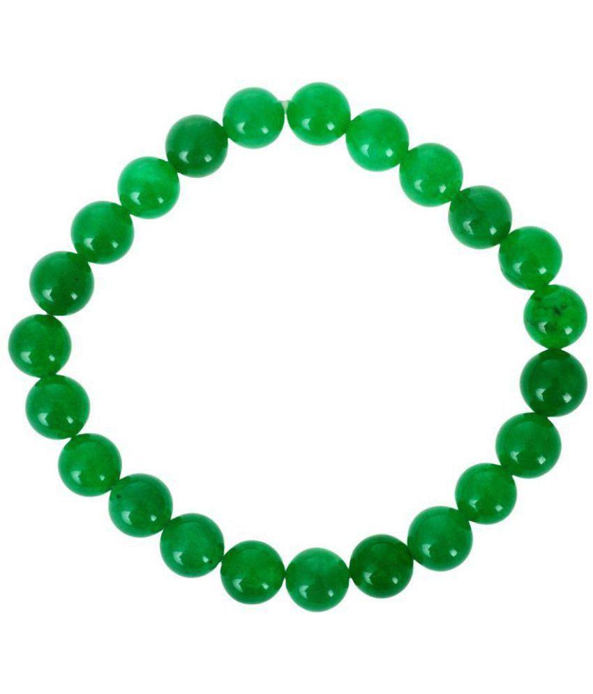 Green Akik (Agate) Bracelet 100 % Original And Natural From KESAR ZEMS