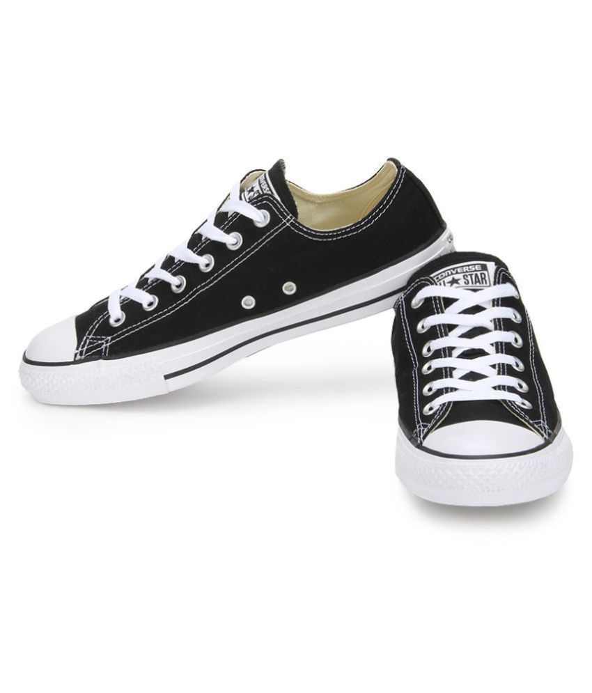 STAR Sneakers Black Casual Shoes