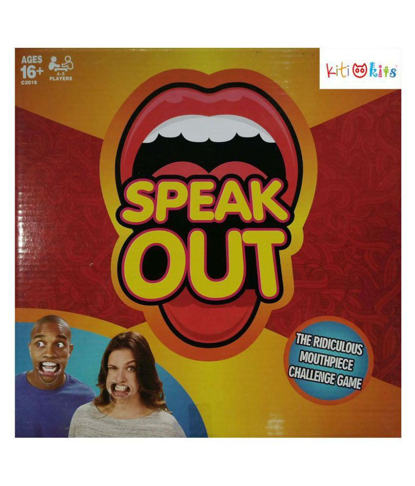 Funny SpeakOut Game For Adult Board Game