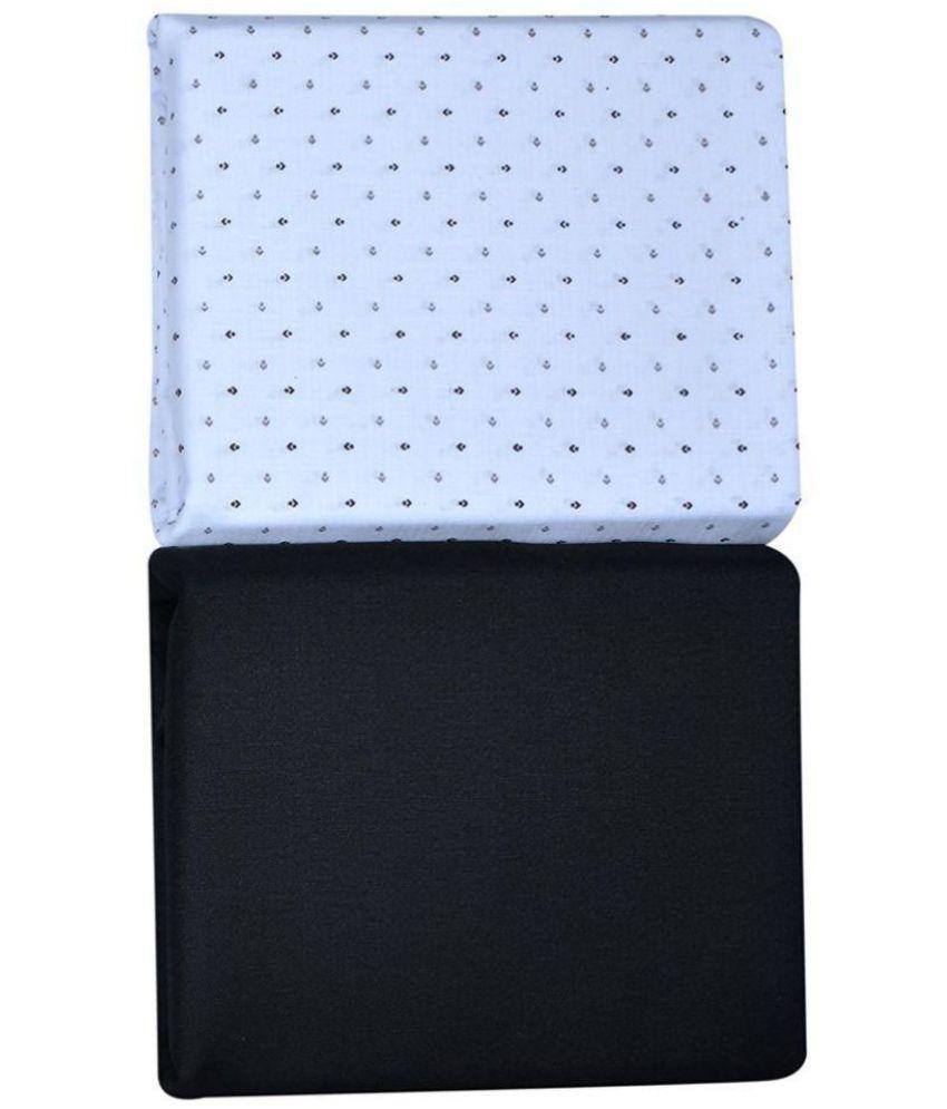 KUNDAN SULZ GWALIOR Multi 100 Percent Cotton Unstitched Shirts & Trousers 1 Pant & 1 Shirt Piece