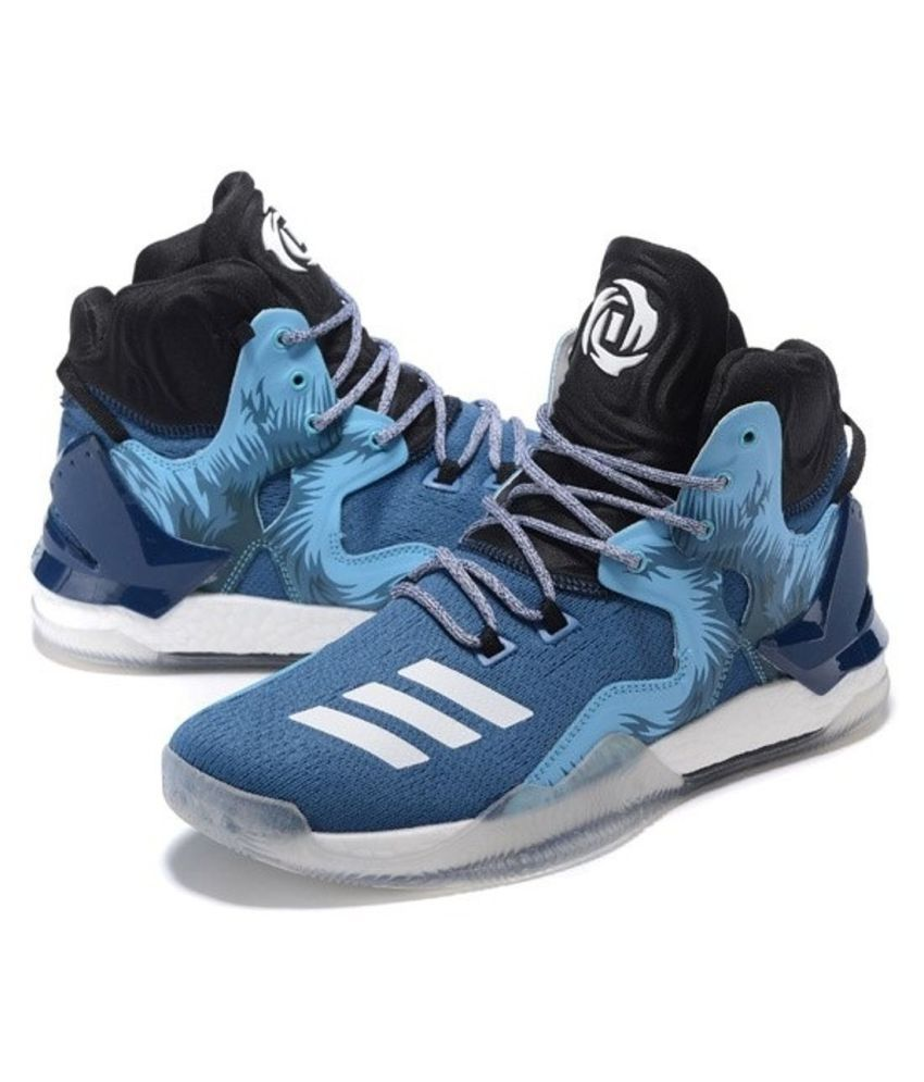 f95765f5b0bb Adidas D ROSE 7 PRIMEKNIT Blue Basketball Shoes - Buy Adidas D ROSE 7  PRIMEKNIT Blue Basketball Shoes Online at Best Prices in India on Snapdeal