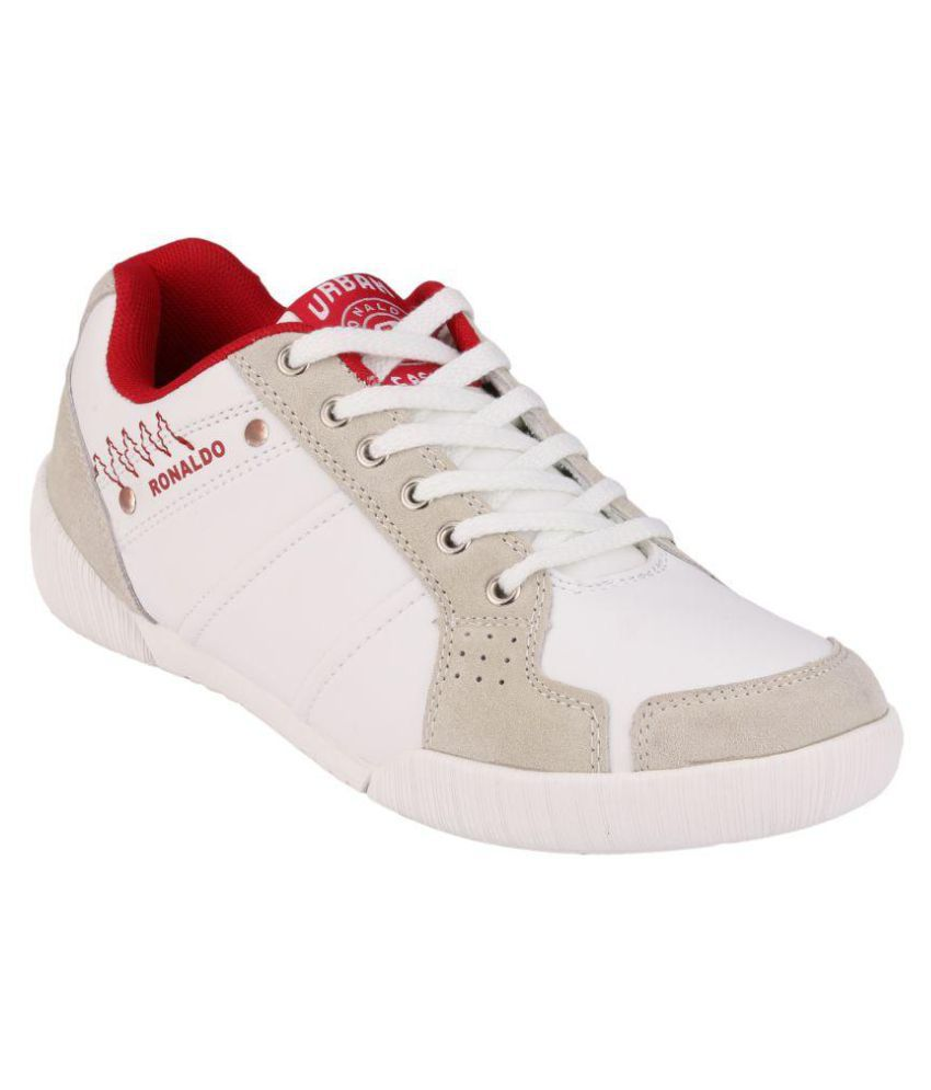 5d1a49597 Ronaldo RONALDO LOTUS Sneakers White Casual Shoes - Buy Ronaldo RONALDO  LOTUS Sneakers White Casual Shoes Online at Best Prices in India on Snapdeal
