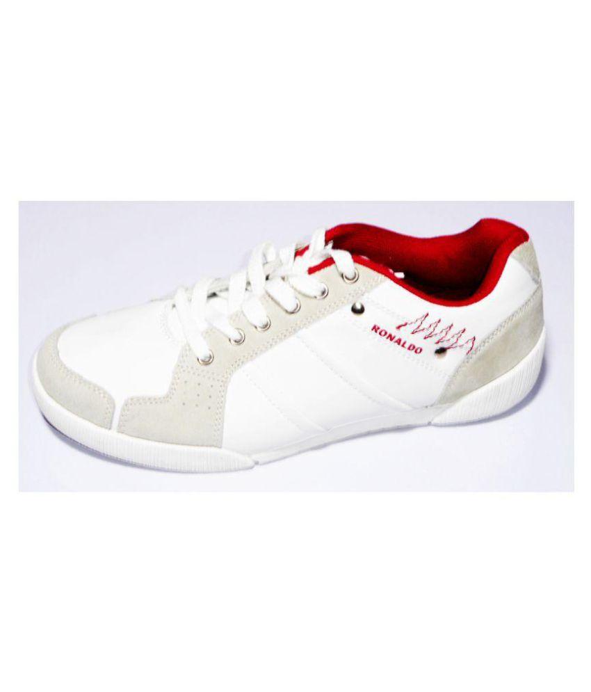 38abc8a08 Ronaldo RONALDO LOTUS Sneakers White Casual Shoes - Buy Ronaldo ...