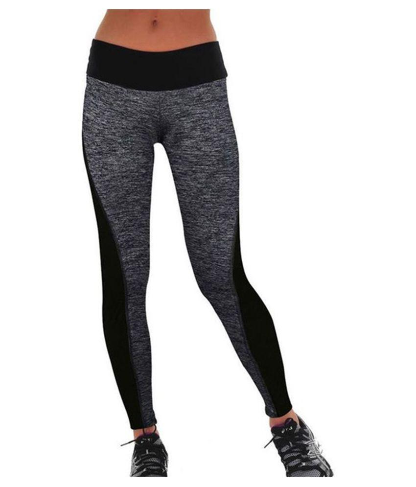 Zesteez Women Sports Leggings for Gymwear Activewear Sportswear Stretchable Fabric Light Weight Moisture wiking Lycra 4 way stretchable Material