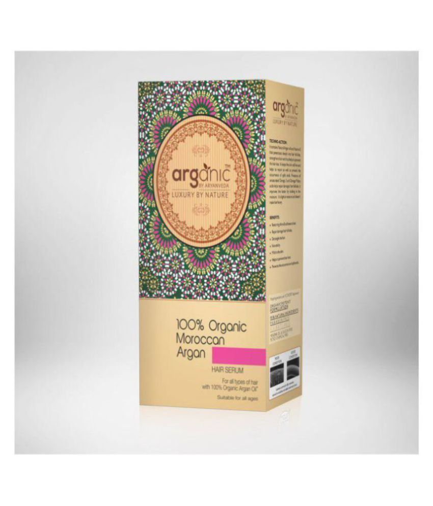 Aryanveda Herbals 100% Organic Hair Serum 50 ml