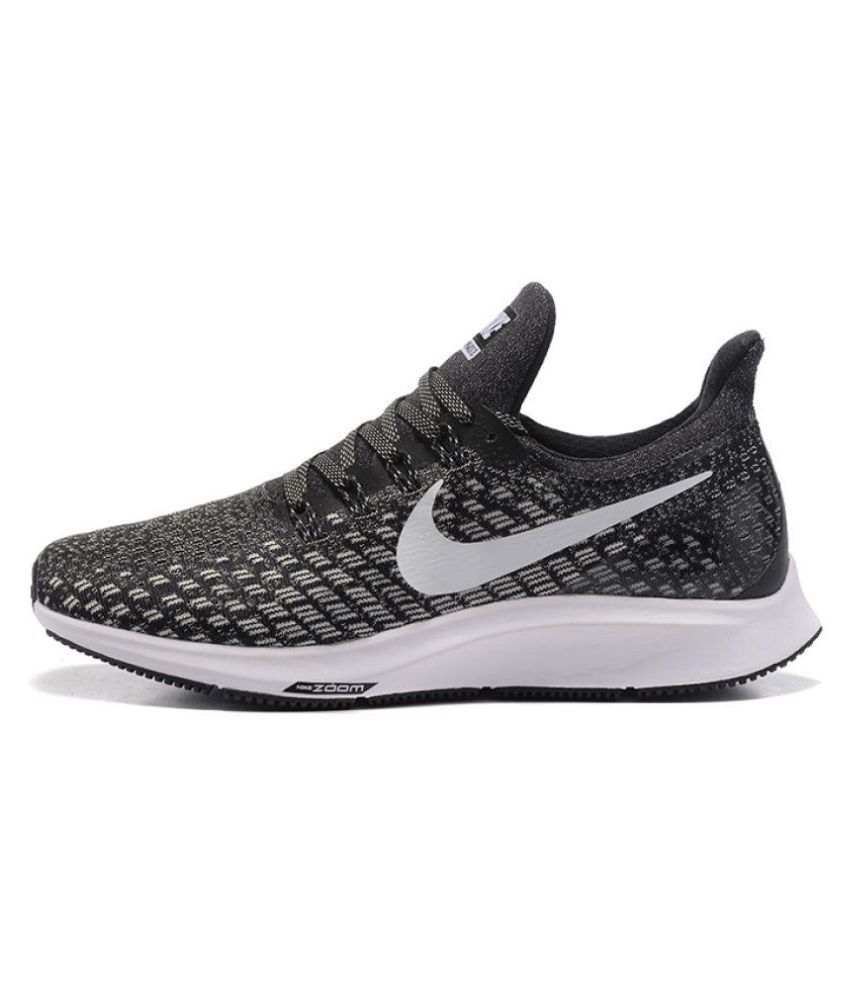 4524f028c0d Nike Zoom pegasus 35 Black Running Shoes - Buy Nike Zoom pegasus 35 Black Running  Shoes Online at Best Prices in India on Snapdeal