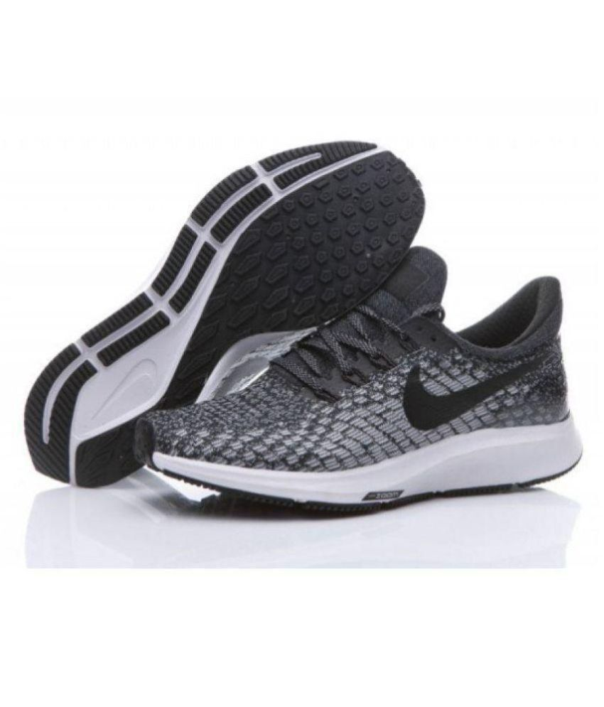 55c1b97fa3a Nike Zoom pegasus 35 Black Running Shoes - Buy Nike Zoom pegasus 35 ...
