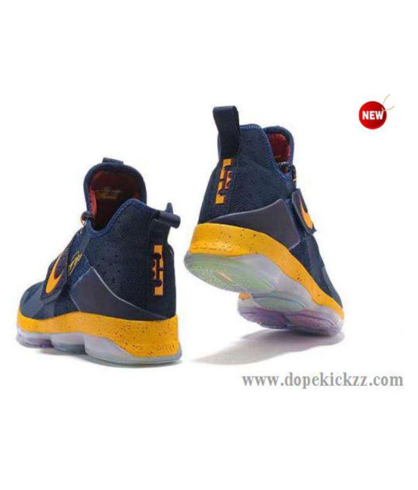 9928955f79f77 Nike leBron 14 Navy Basketball Shoes Nike leBron 14 Navy Basketball Shoes  ...