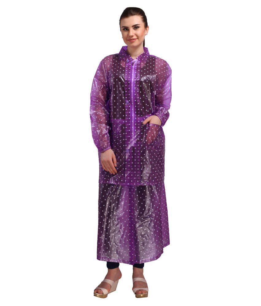 REAL Waterproof Raincoat Set - Purple