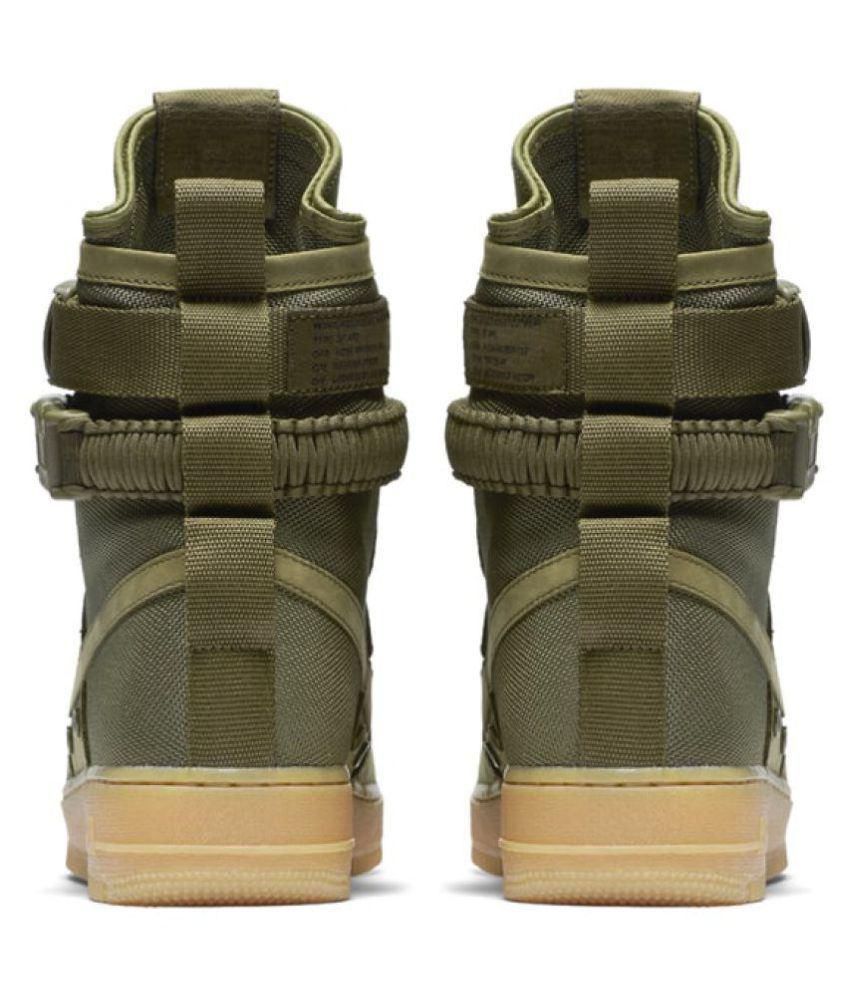 6f72177e57f25 Nike Air Force SF 1 High Green Training Shoes - Buy Nike Air Force ...