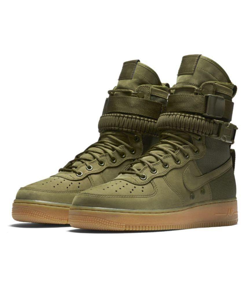 Nike Air Force SF 1 High Green Training Shoes