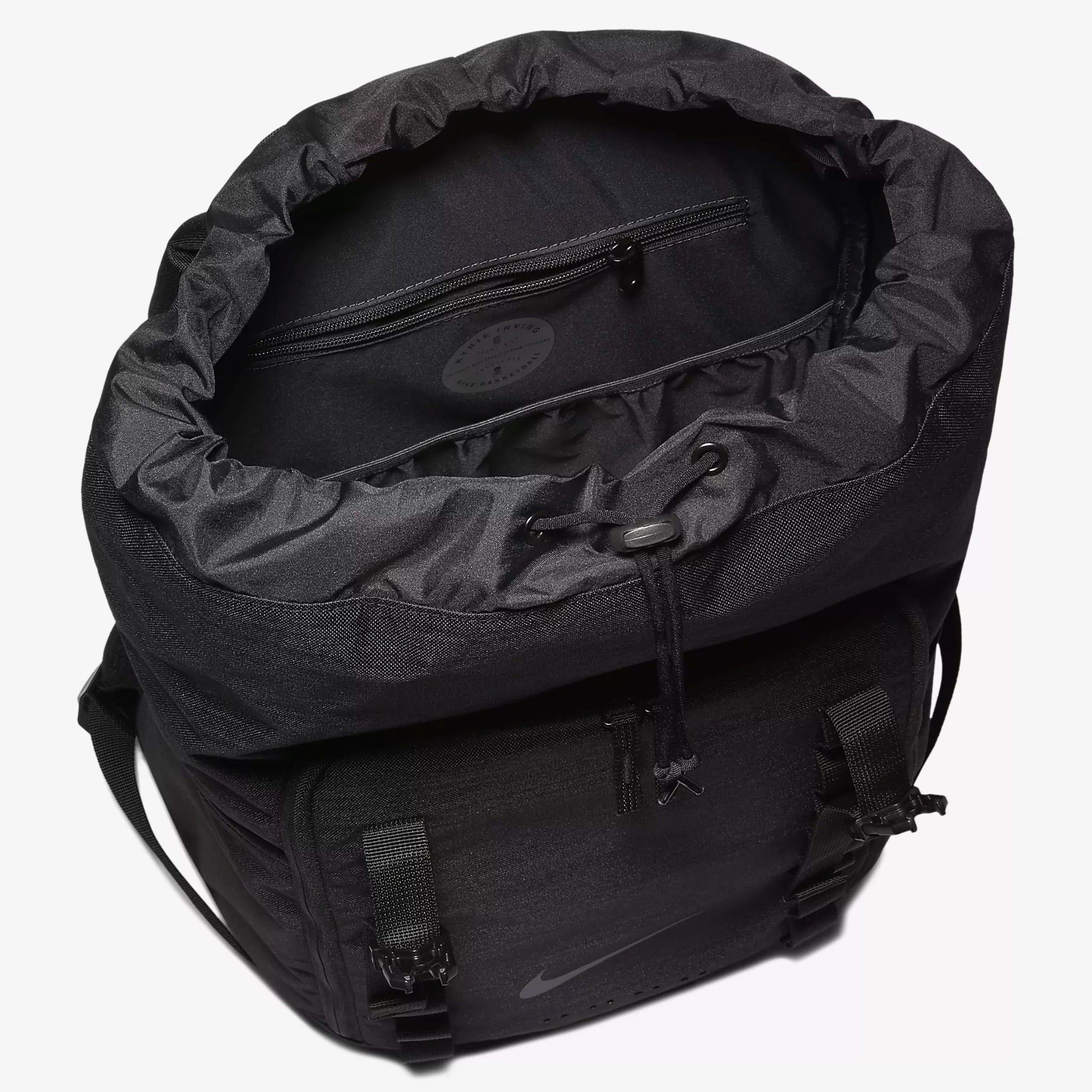 0eab0ea5f5e2 Nike Black Kyrie Basketball Backpack - Buy Nike Black Kyrie Basketball  Backpack Online at Low Price - Snapdeal